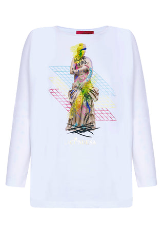 Camiseta Estatualar Blanco
