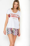 Camiseta Enjoy Blanco
