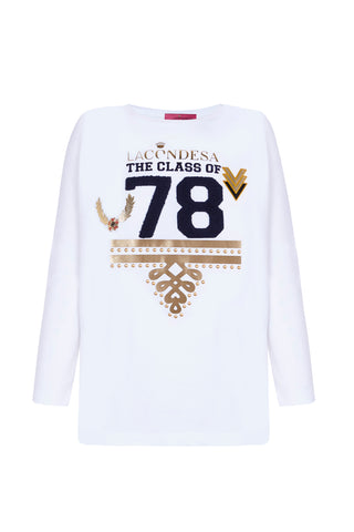 Camiseta THE CLASS OF Blanca