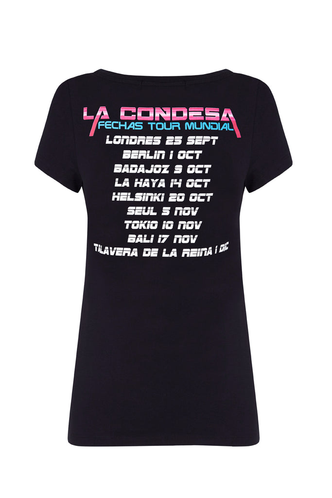 Camiseta Techno Negra