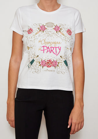 Camiseta Party Blanco | Party white