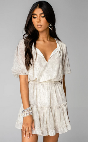 White Ruffle Sleeveless Top