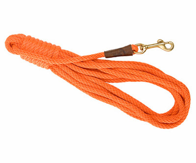 Trainer 30' Check Cord 3/8 x 30' Orange - Northwest Hunting Dogs Supply