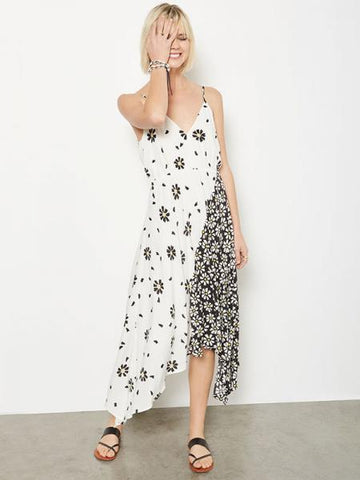 1520 Mixed Print Cami Dress