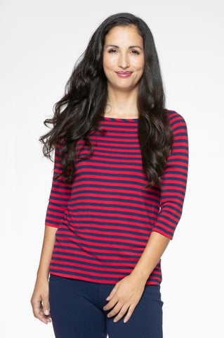 Yala Kai Top - French Stripe