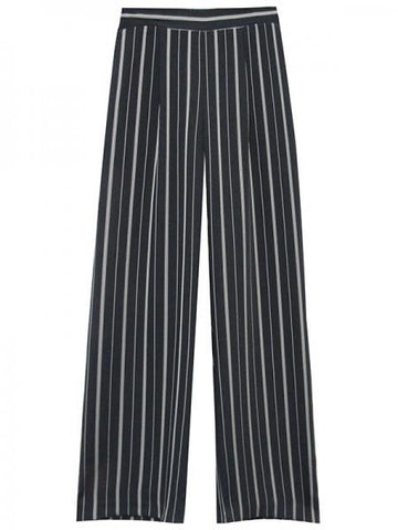 1520 Wide Leg Pants - Stripe