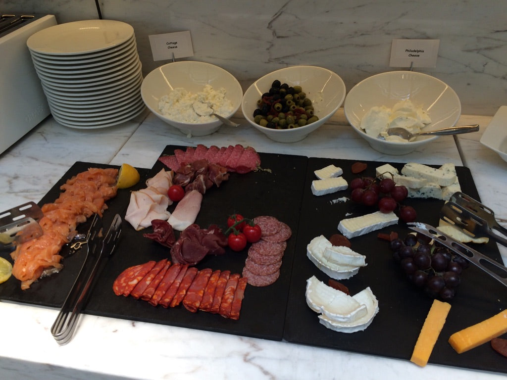 BoHo Prague Hotel Breakfast Charcuterie
