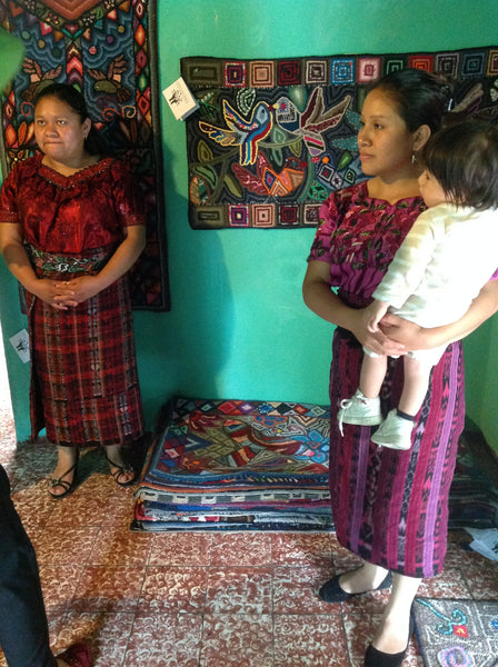 Women in Business Part III ~ Guatemalan Rug Weavers