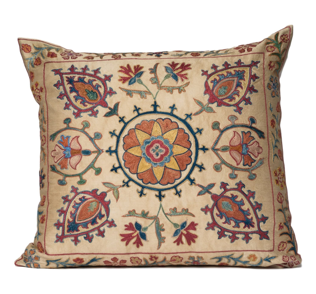 Fergana Suzani Pillow