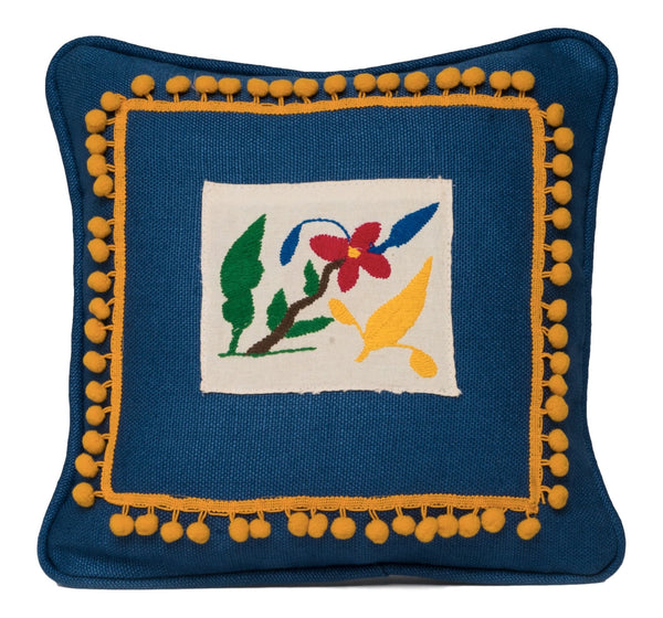 """Aguanaval"" Otomi Pillow"