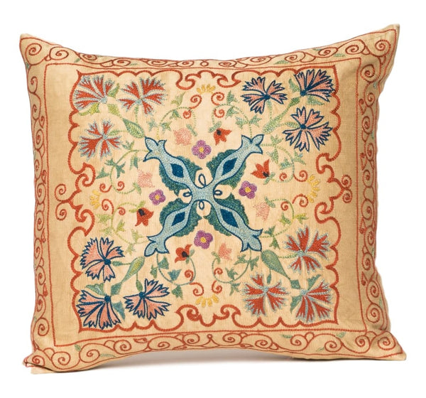 """Akin"" Suzani Pillow"