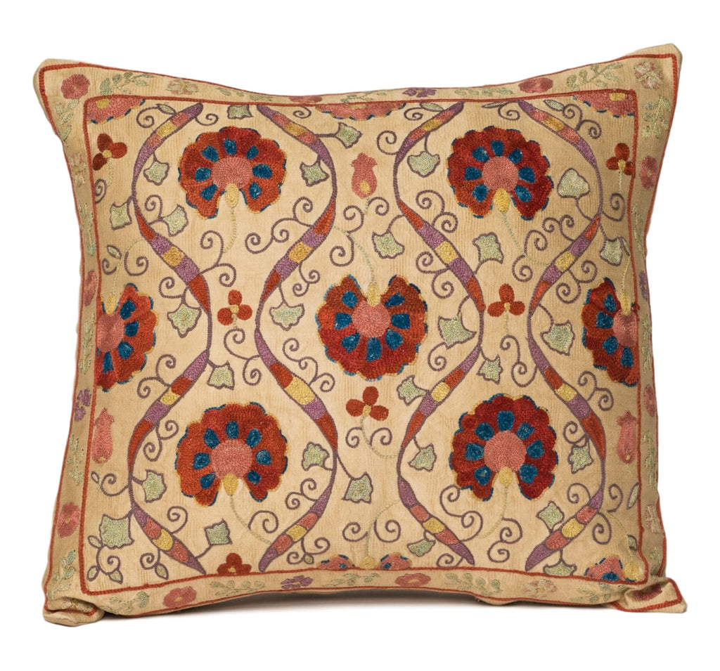 """Metz"" Suzani Pillow"