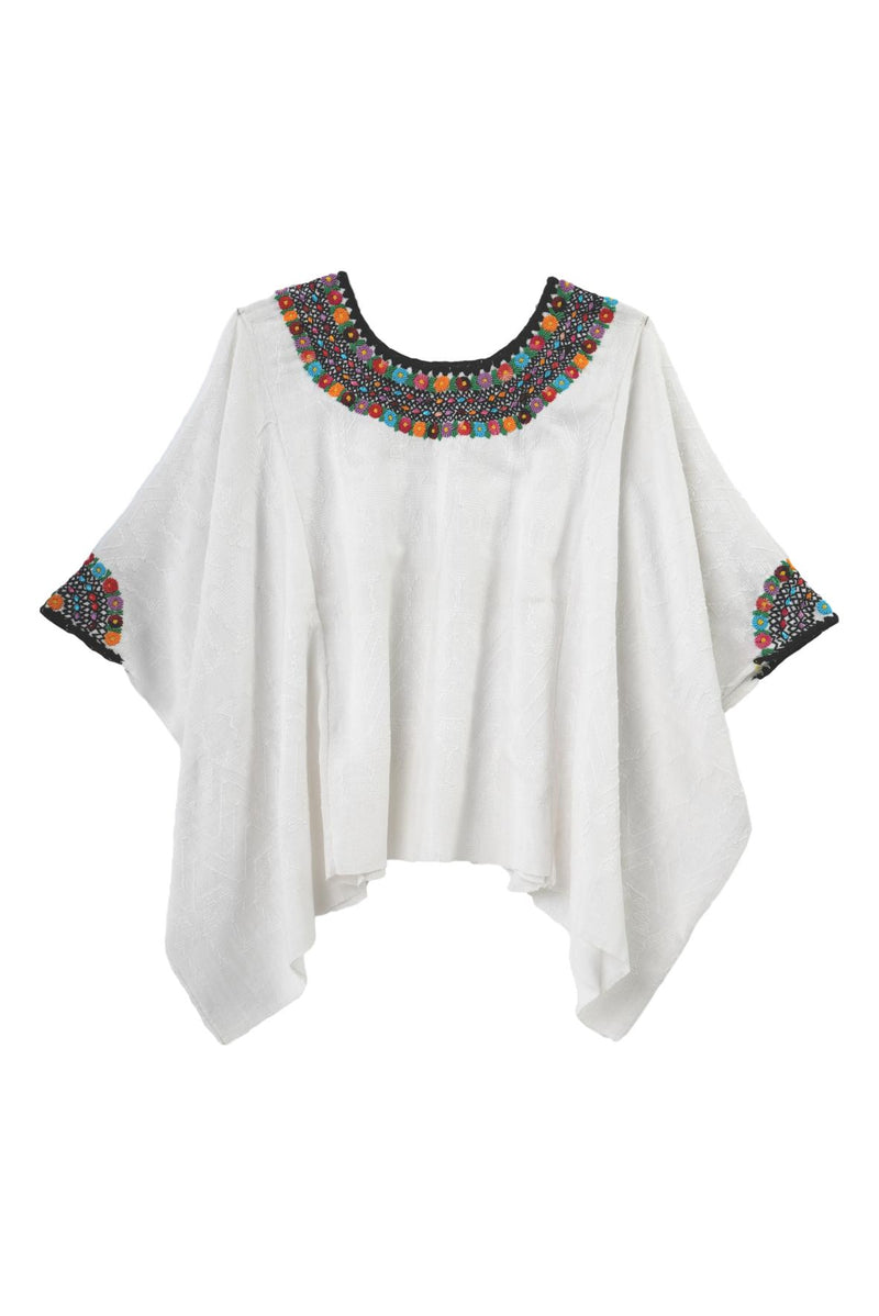 Evelyn Guatemalan Blouse - Multicolor