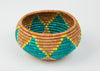 Joy Bowl in Wheat, Yellow, Teal