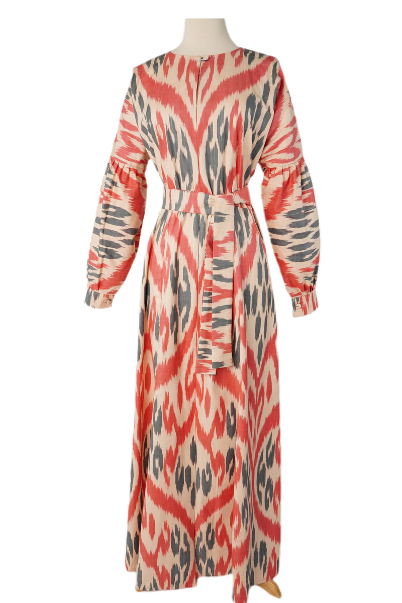 Bettina Cotton Ikat Dress