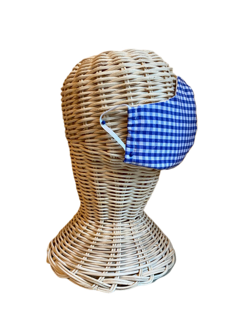 Fabric Face Mask- Gingham