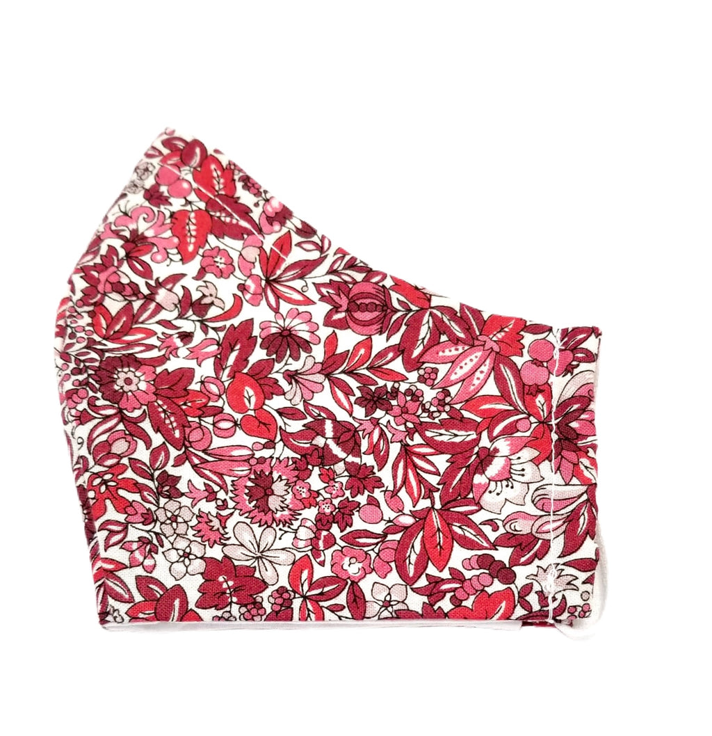 Helen Style Liberty of London Headband - Persimmon Red, Pink, Taupe, White