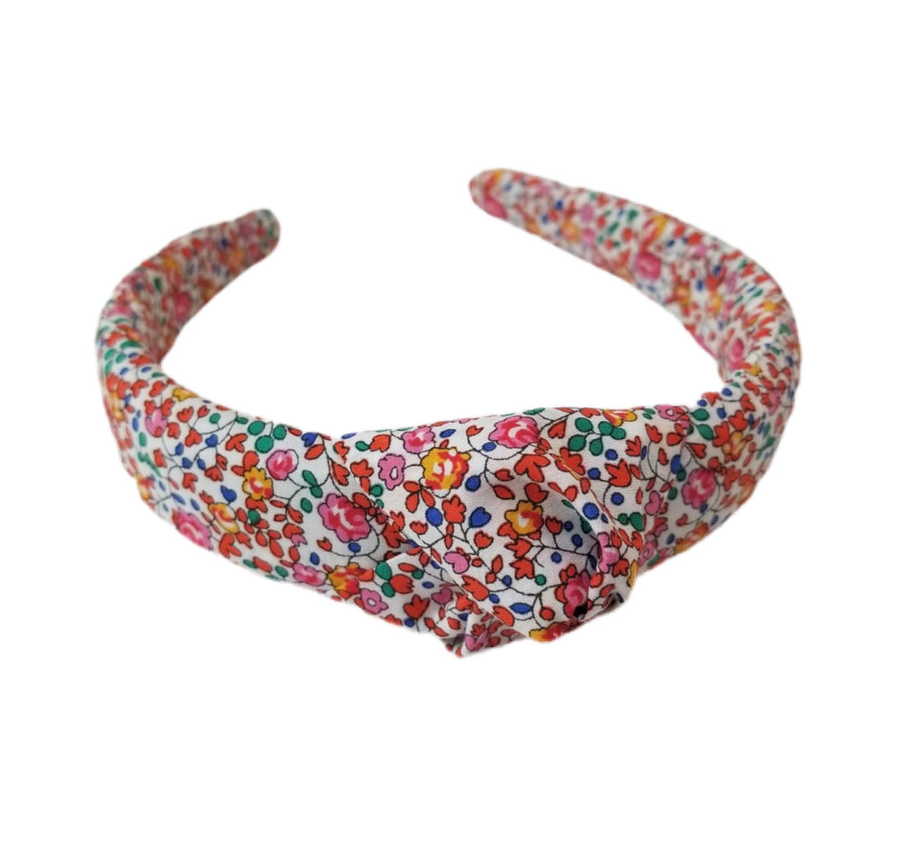 Liberty of London Headband - Red, Orange, Pink, Multi