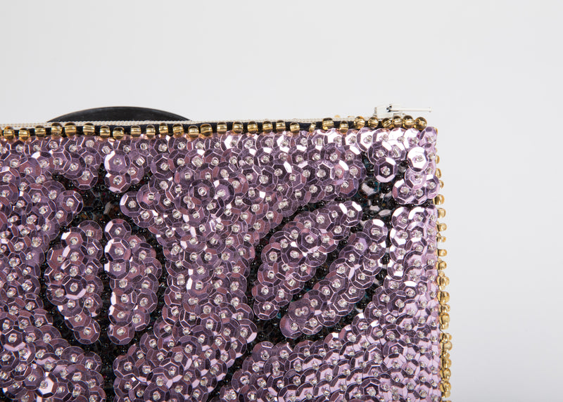 Marassa Beaded Clutch