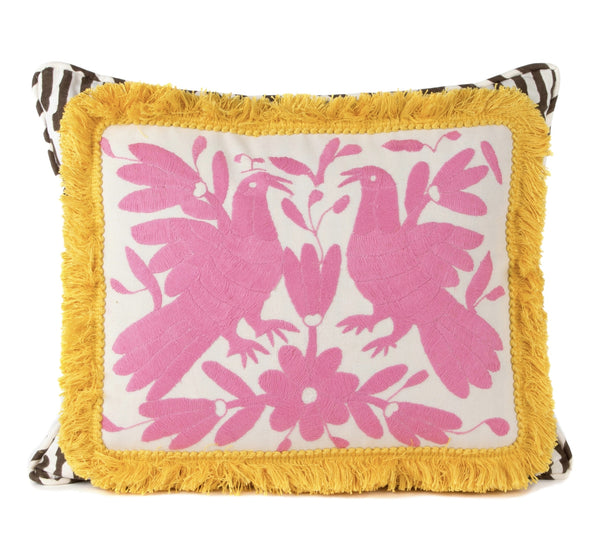 """Alicante"" Otomi Pillow"