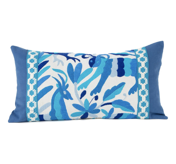 """Cuernavaca"" Otomi Pillow"