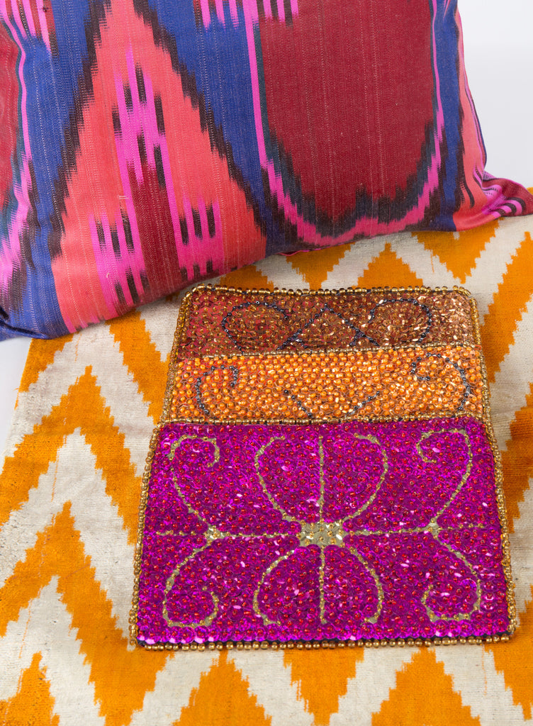 """Mireille"" Haitian Beaded Purse"