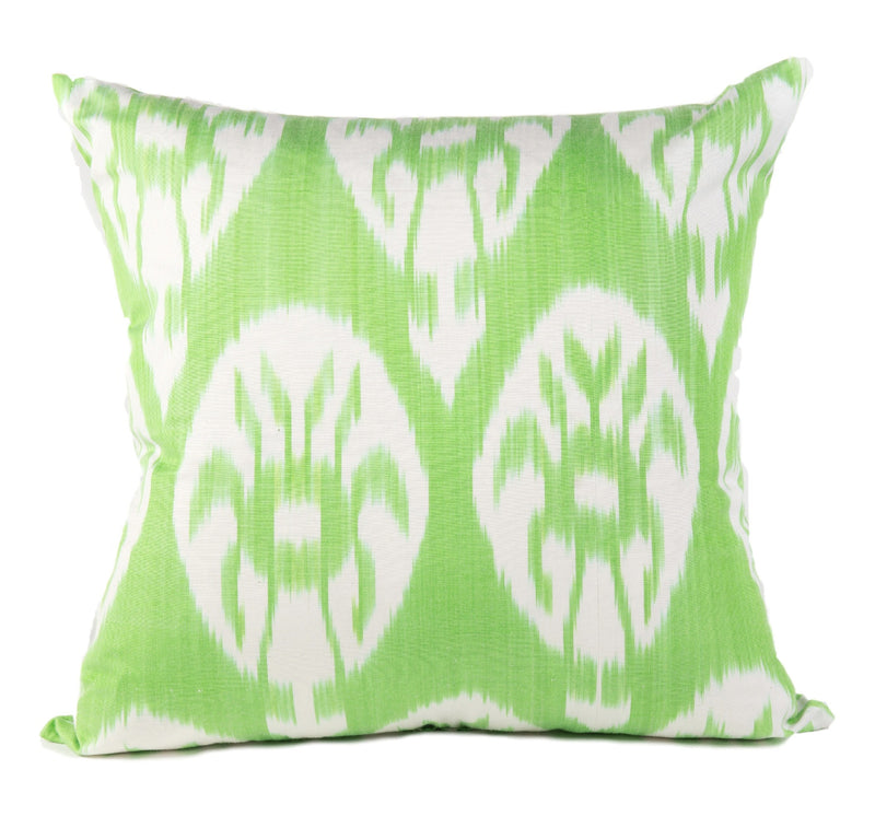 SAMPLE SALE - Biarritz Silk Ikat Pillow