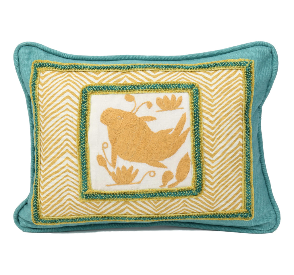 """Vaquita"" Otomi Pillow"