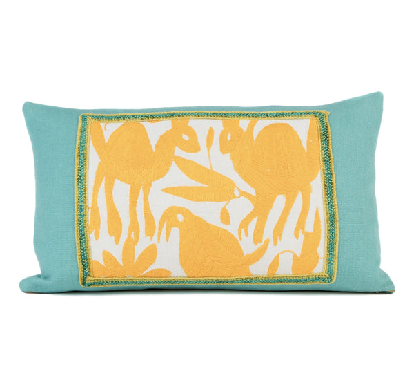 """Celeste"" Otomi Pillow Featuring Various Animals"