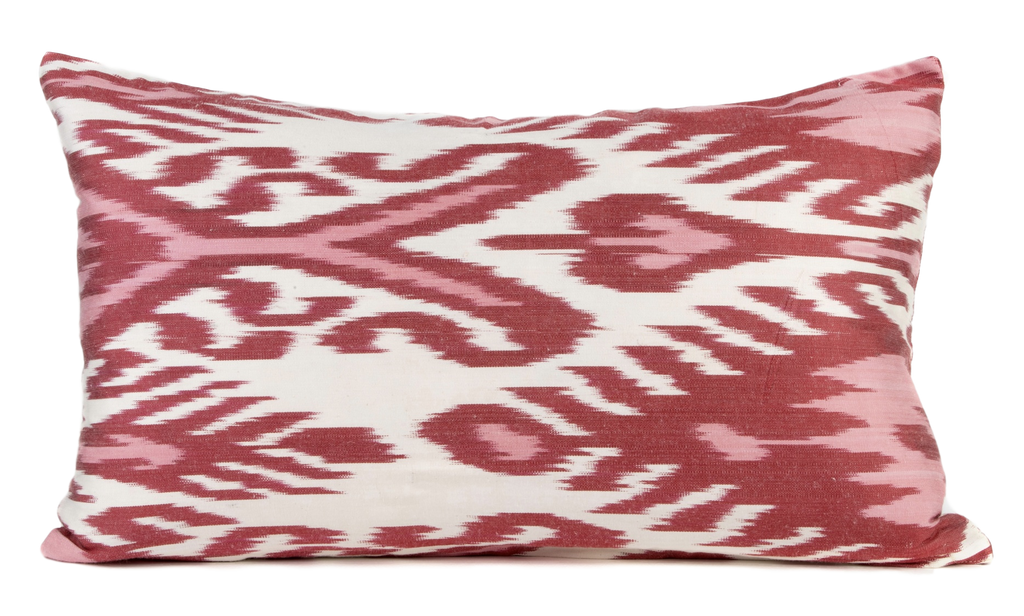 Courville Silk Ikat Pillow