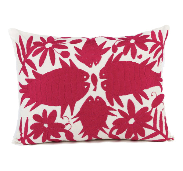 """Cabo"" Mexican Otomi Pillow"