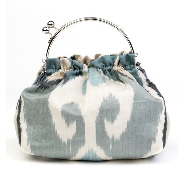 """Saint-Amande""  Silk Ikat Party Purse"