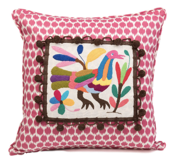"""Francisco"" Otomi Pillow"