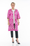 Basques Silk Ikat Jacket
