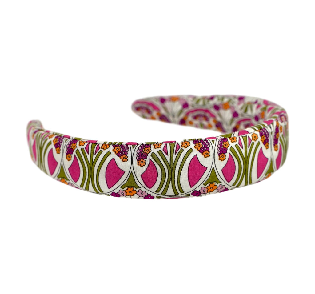 Liberty of London Headband - Pink, Green, Orange