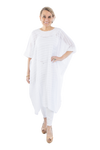 Luisa Guatemalan Caftan - White on White