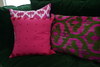 Apremont Silk Velvet Ikat Pillow