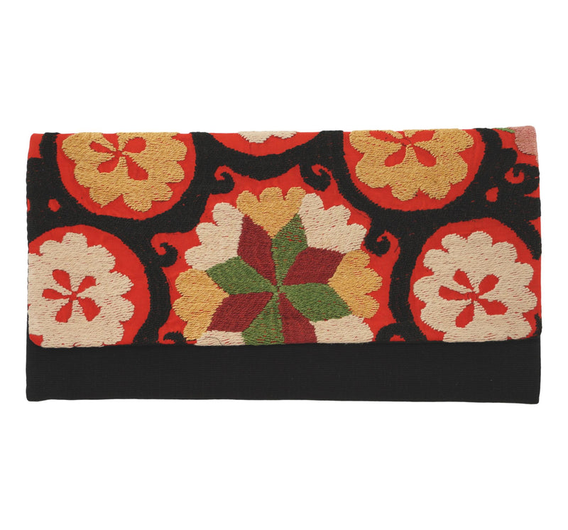 Antoine Antique Suzani and Guatemalan Textile Clutch