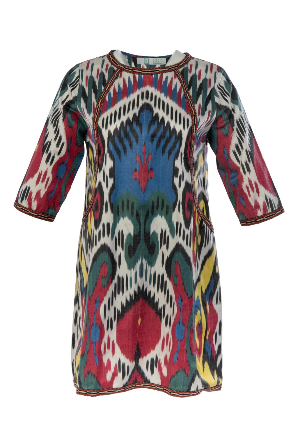 Niccola Silk Ikat Tunic