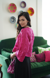 Felted Wool Jacket - Fuschia