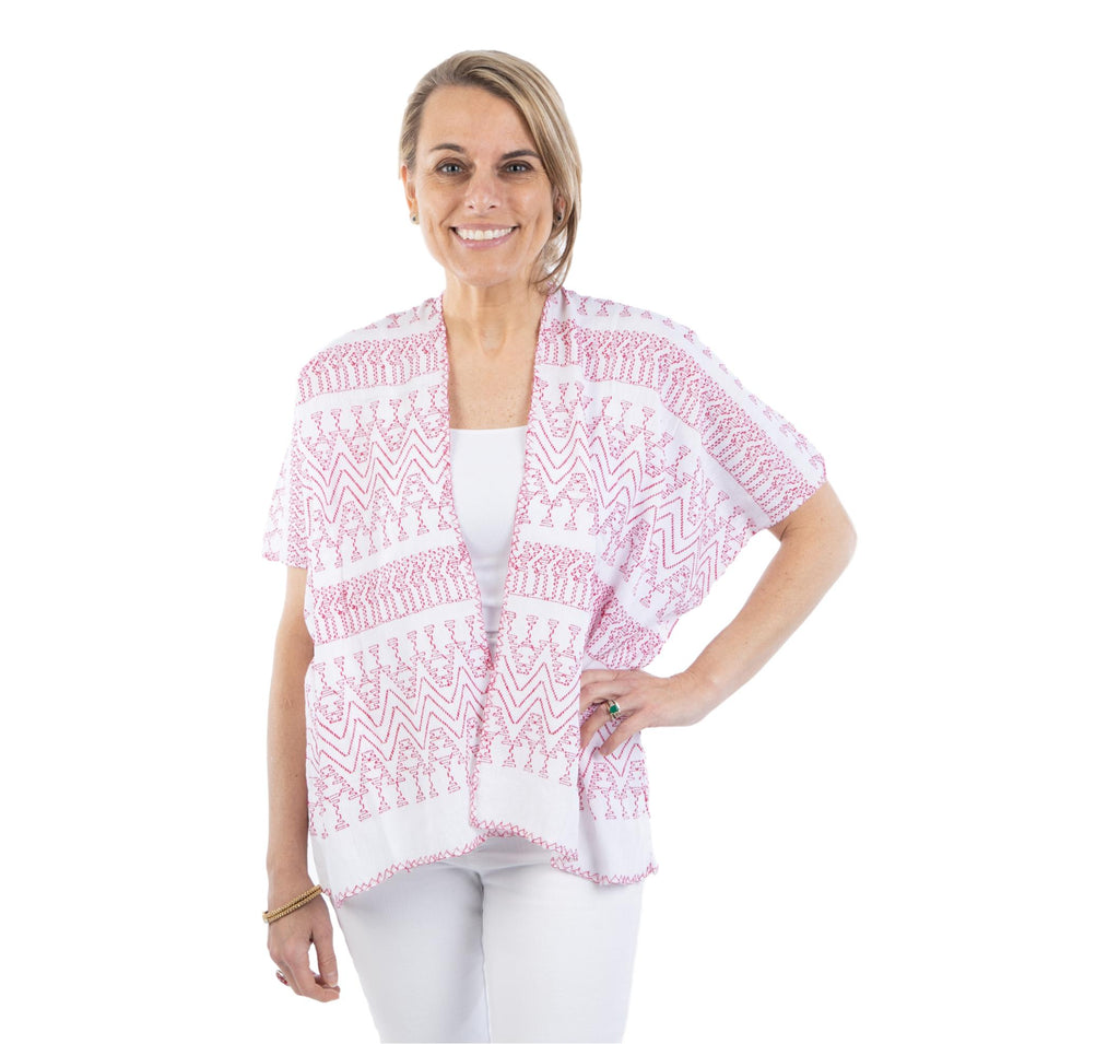 Santo Domingo Shrug- Red