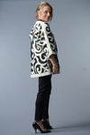 Felted Wool Coat - Ivory