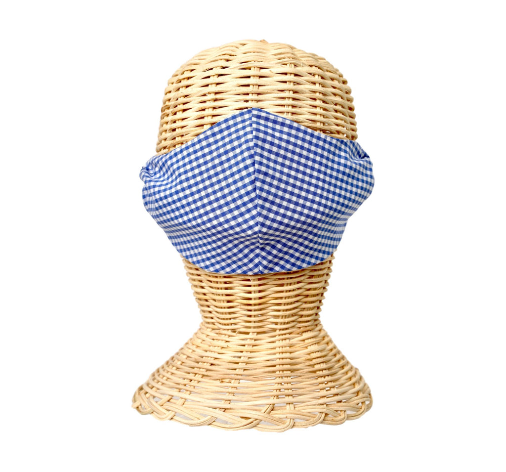 Fabric Face Mask- Gingham - See More Colors