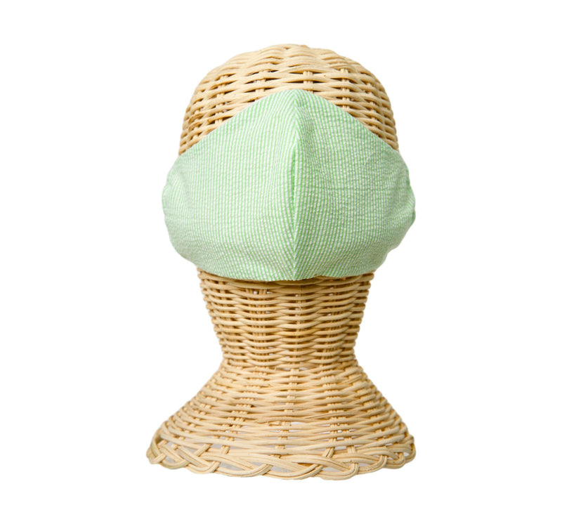 Fabric Face Mask- Seersucker - See More Colors