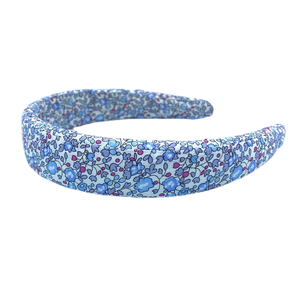 Liberty of London Headband - French Blue, Lilac, Raspberry