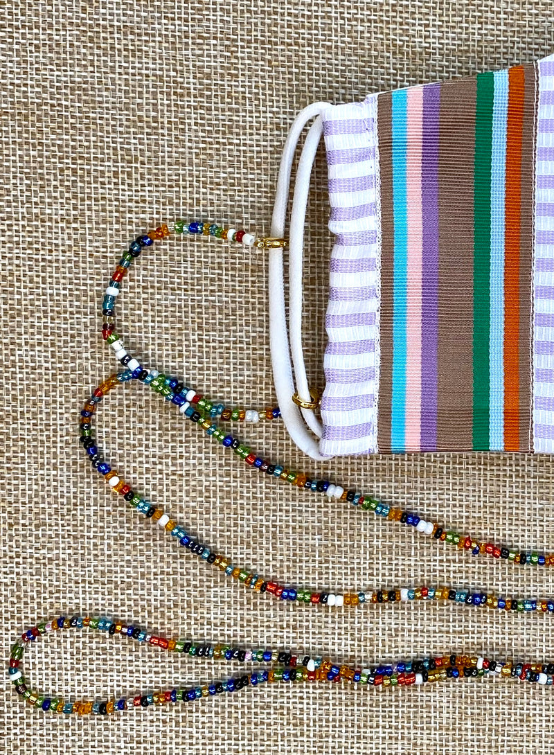 Beaded Chain for Face Masks