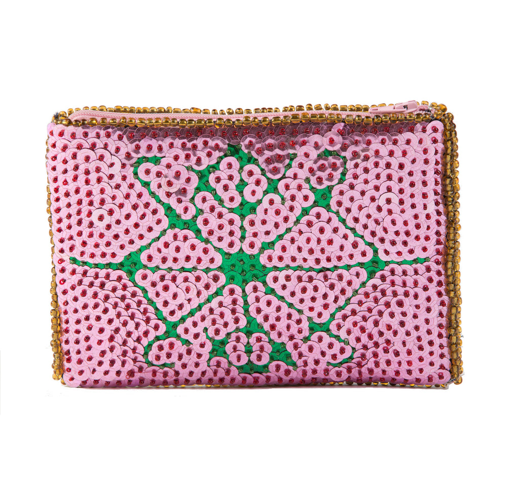 """Jacmel"" Beaded Evening Clutch"