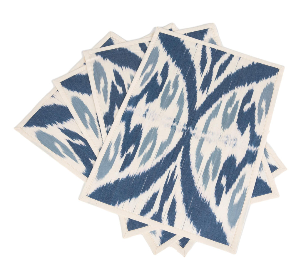Lucien Cotton Ikat Placemats