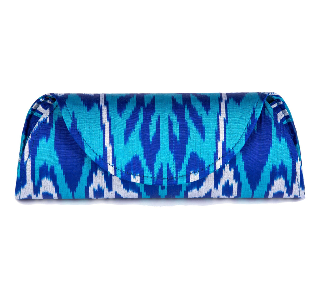 Mykonos Hard Shell Clutch - Large