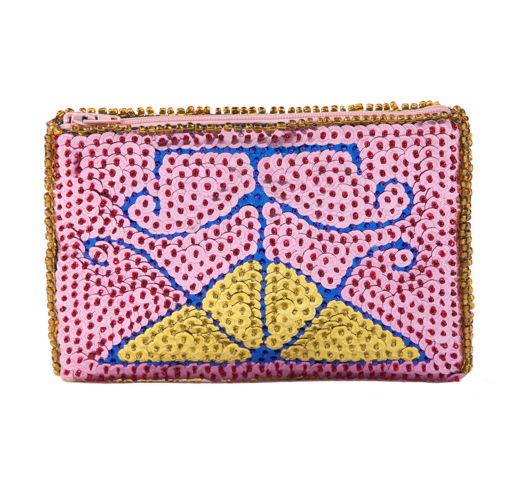 Port de Paix Beaded Clutch